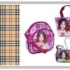 #Burberry contre #Violetta