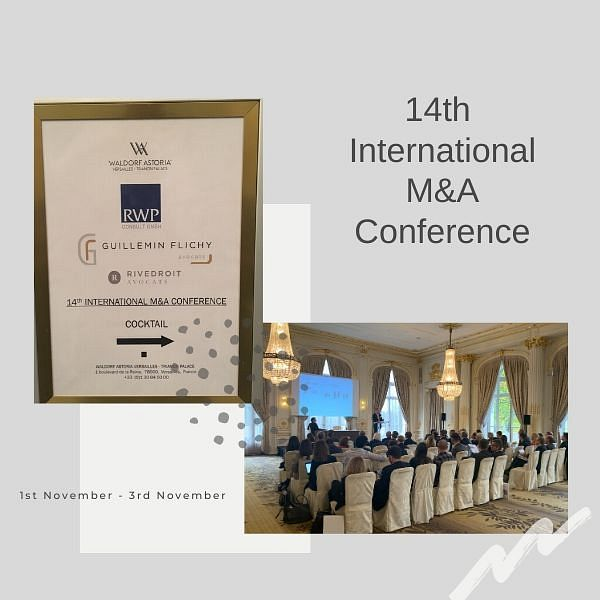 14ème International M&A Conférence